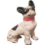 Hubley Cast Iron Sitting Boston Terrier Paperweight