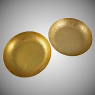 Neocraft by  Everlast Aluminum Pair of Modern Floral Designed Bowls