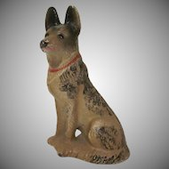 Hubley Cast Iron German Shepherd Paperweight