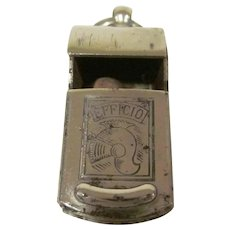 World War II Army Master  Sargent Italian Efficio Whistle