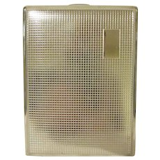 Vintage Made in Germany Plated Cigarette Case