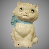 Vintage Hubley Cast Iron Kitty Bank