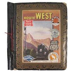 Wallace's Homestead Tour 1937 Trip Album