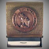 Glacier National Park Souvenir Matchbook Safe