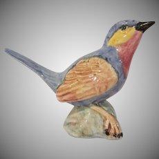 Stangl Pottery Bird Figurine #3589 Indigo Bunting