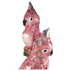 Stangl Pottery 3405D Revised Double Cockatoo Bird Figurine