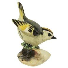 Stangl Pottery #3848 Golden-Crowned Kinglet Single Bird Figurine