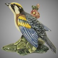 Stangl Pottery #3812 Chestnut Sided Warbler Bird Figure