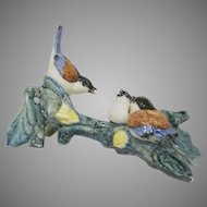 Group of Chickadees #3581 by Stangl Pottery Birds Figurine