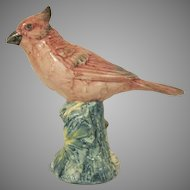 Stangl Pottery Cardinal Revised Version #3444 Bird Figure