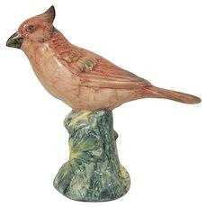 Stangl Pottery Cardinal Revised Version #3444 Bird Figure