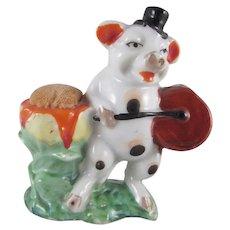 Made in Japan Pig Playing a Drum Pincushion