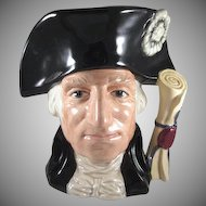 George Washington Royal Doulton Large Character Jug