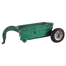 Arcade Cast Iron Bottom Dump Trailer Farm Implement Toy
