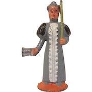 Vintage Manoil Cast Metal Teacher Figure Toy