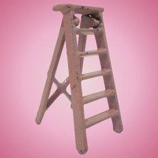 "Kilgore 1/2"" Cast Iron Ladder Dollhouse Furniture"
