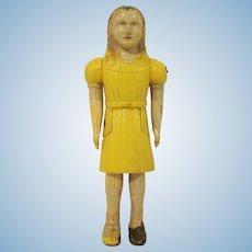 """Renwal 3/4"""" No. 41 Sister Dollhouse Hard Plastic Doll"""