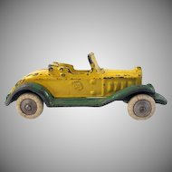 A.C. Williams Cast Iron Roadster with Detachable Top Toy