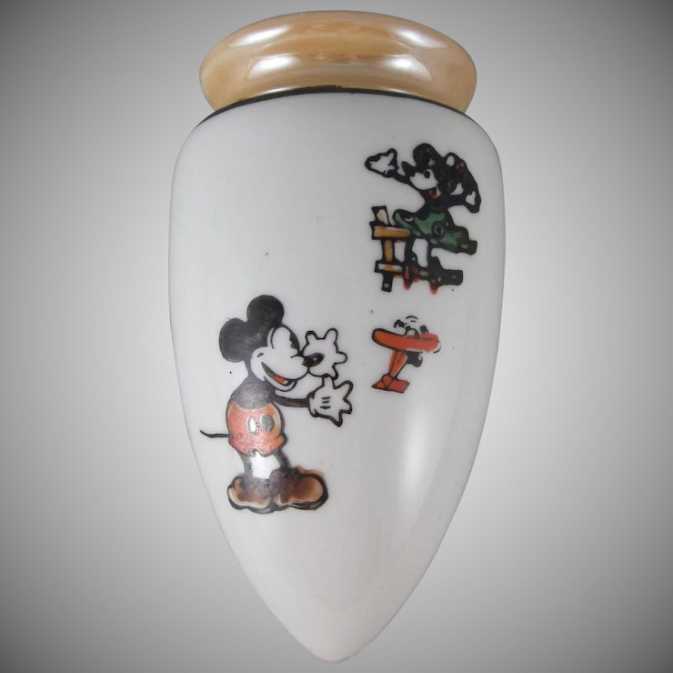 Mickey and minnie mouse walt e disney wall pocket made in japan