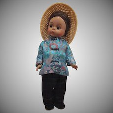 "Madame Alexander International Collection China 7-1/2"" tall Doll"