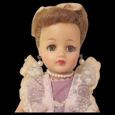 Ideal Little Miss Revlon Doll with Tagged Dress - Red Tag Sale Item