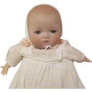 """A.M. 541/0 Germany Bisque Head 10-3/4"""" Baby Doll"""