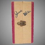 Joanie Walker PMA Heavy Textured Cardboard Doll Case 1950s