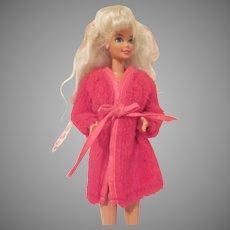 Vintage Barbie Doll Robe #1867 Dream Ins 1969