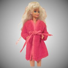 Vintage Barbie Doll Robe #1867 Dream Ins 1969