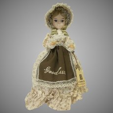 Vintage Bradley Dolls Good Luck  Country Style Dress Made in Korea 1980s Doll