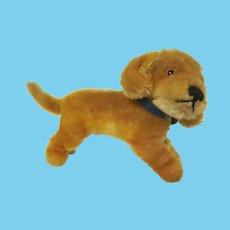 Vintage Steiff Bazi No. 1310 Dachshund Plush Puppy Dog Toy
