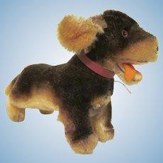 Vintage Steiff Bippo Running Dachshund Dog No IDs