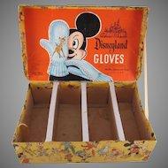 Disneyland Gloves Counter Display Box Nice Graphics