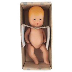 Vintage Kerr & Hinz Jointed Baby in Original Box