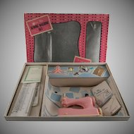 Junior Miss Sewing Machine Set by Hasbro in Original Box