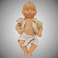Adorable Vintage Hard Plastic Irwin Baby Doll