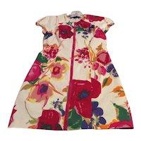 Vintage Couture Floral Mini Dress Bb Dakota Mint Condition  SzS Free Shipping