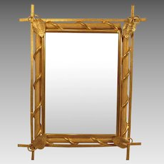 Aesthetic Movement Gilt Bronze Picture Frame