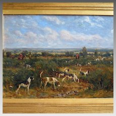 19th Century British Hunting Scene by Nevison Arthur Loraine