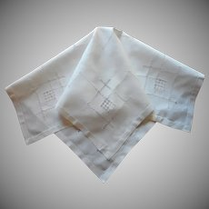 Tea Tablecloth Vintage Linen Simple