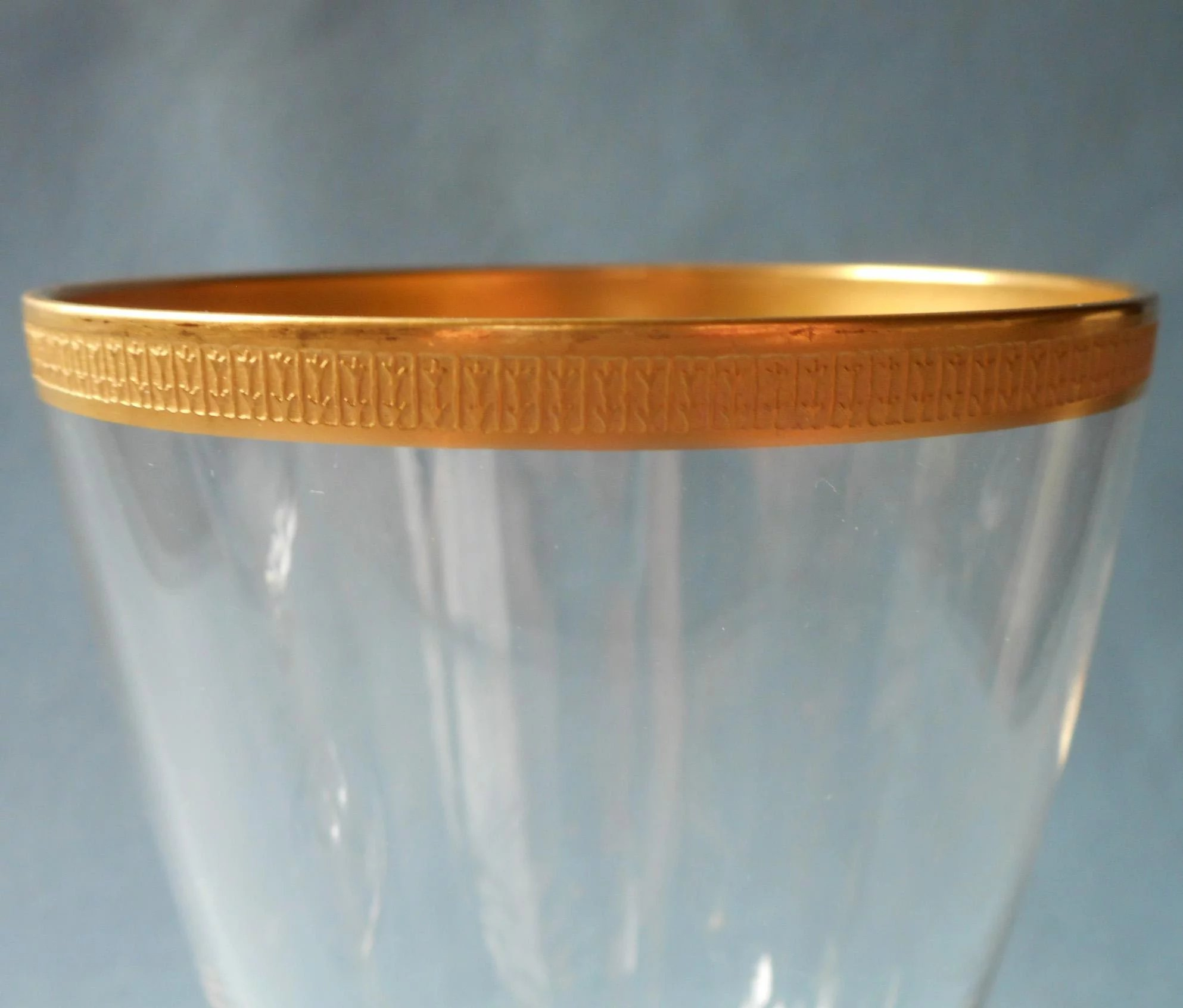 Lenox tuxedo 4 crystal wine glasses gold encrusted rims vintage click to expand reviewsmspy
