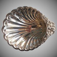 Shell Form Bowl Silver Plated Vintage F. B. Rogers