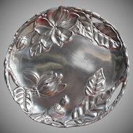 Arthur Court Magnolia Platter Bird 12.25 Inch Pierced Rim