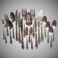 Homestead Vintage Stainless Steel Pie Dessert Server Knives Spoons Forks Serving Pieces