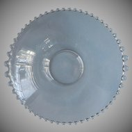 Candlewick Large Serving  Graduated Bead Rim Vintage Imperial Glass
