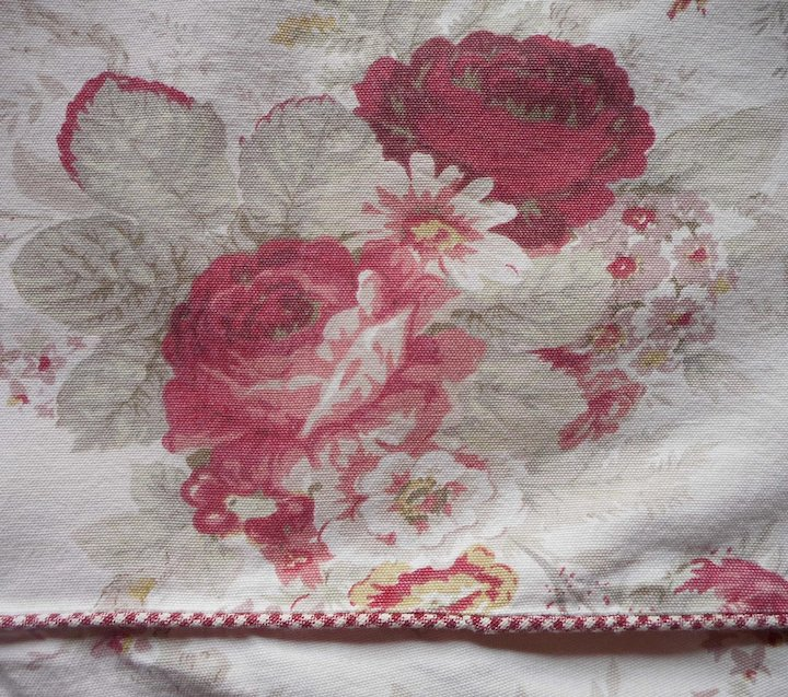 Norfolk Rose Vintage Waverly Chair Cover Slipcover Garden Room Excellent  Condition