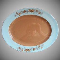 1950s Azure Pine Taylorcraft Taylor Smith Taylor Platter Vintage China