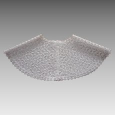 Vintage Lace Collar Eyelet Lace Wide Good Quality
