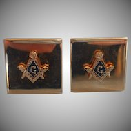 Vintage Masonic Cufflinks