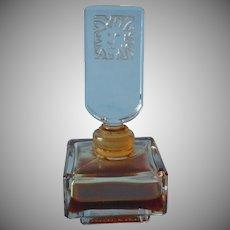 Vintage French Made Perfume Bottle Anne Klein Blazer Lion 1970s